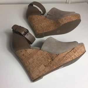 Mark Fisher Wedged Sandals.